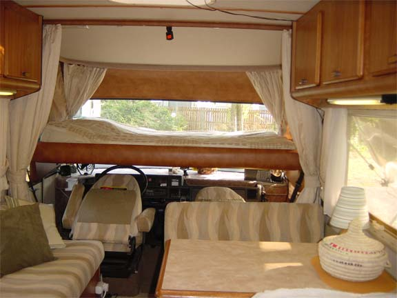 Motorhomes For Hire With Pull Down Beds