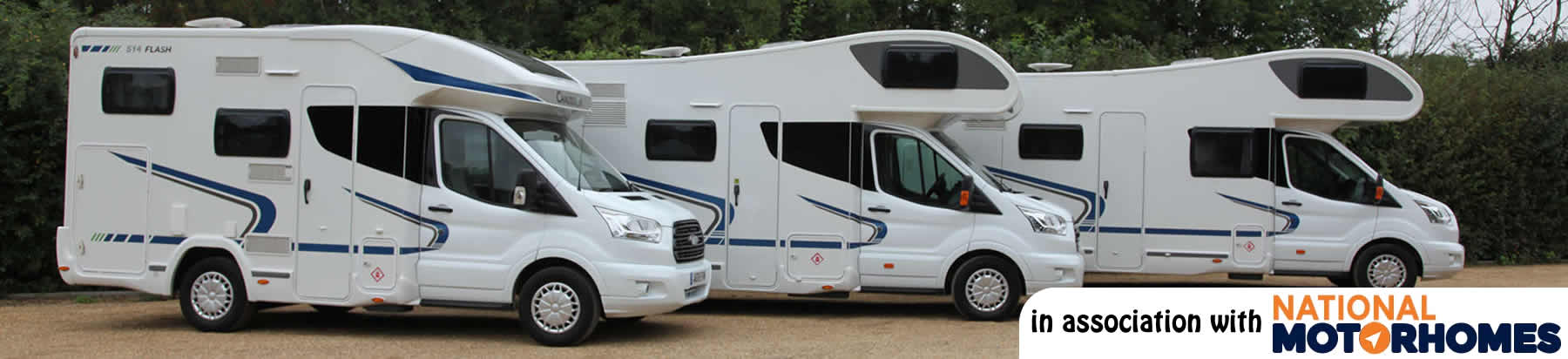 Chausson Flash 03 motorhome hired from the Cambridge depot
